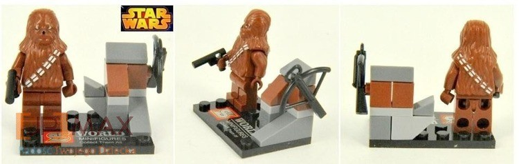 Mini figurka CHEWBACCA Star wars od JPMAX